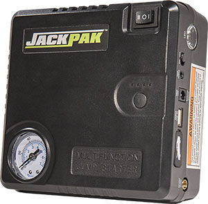 About JackPak portable power pack
