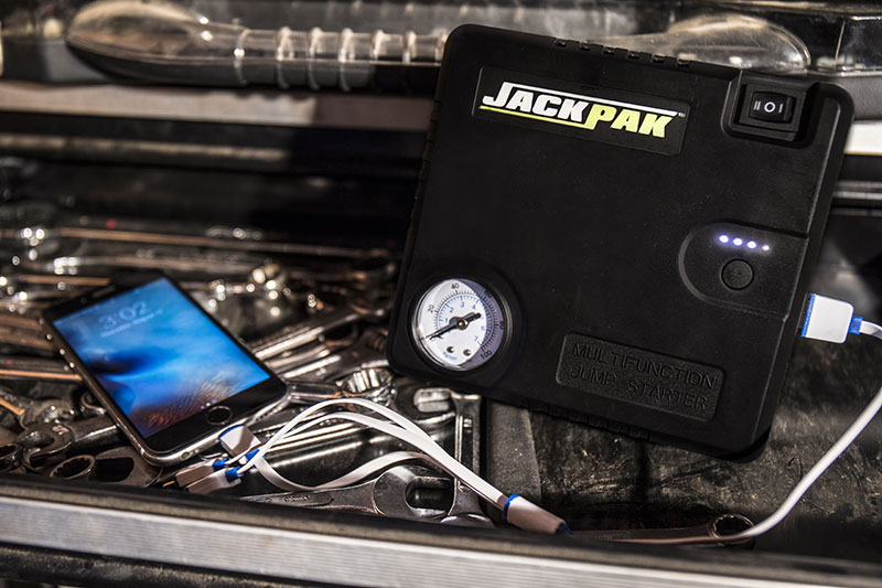 Multi-Jack USB Portable Battery Charger